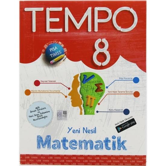 Kırmızı Beyaz Yayınları 8. Sınıf Tempo Matematik Soru Bankası