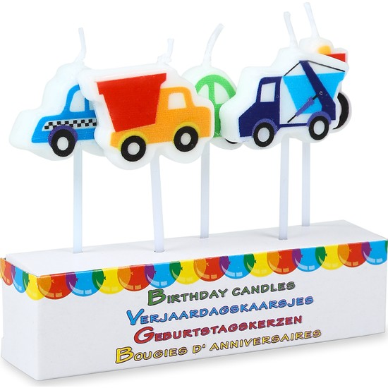 Koopman Doğum Günü Pasta Mumları Modern Araba