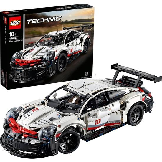 LEGO Technic 42096 Porsche 911 RSR Yapım Kiti (1580 Parça) Çocuk ve Yetişkin Oyuncak Araba Hobi Hediye Koleksiyon