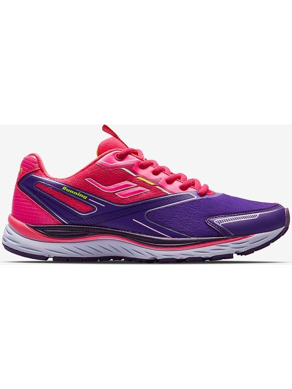 Lescon Space Runner Koşu Mor Bayan Spor Ayakkabı