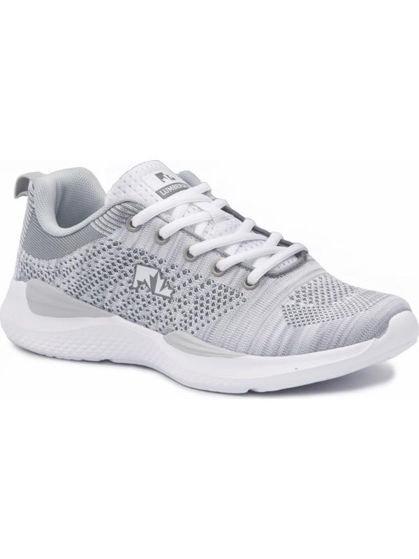 Lumberjack Gri Kadın Günlük Ayakkabı Spor 100356648 8M Wolky Beyaz