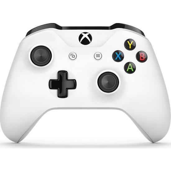 Microsoft Xbox One S Kablosuz Oyun Kumandası - Beyaz ( 8.Nesil )