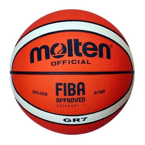 Molten Kahverengi Basketbol Topu Bgr7-Oı indoor Outdoor Top Kaucuk Fiba