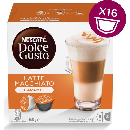 Nescafe Dolce Gusto Caramel Latte Macchiato 16 Kapsül