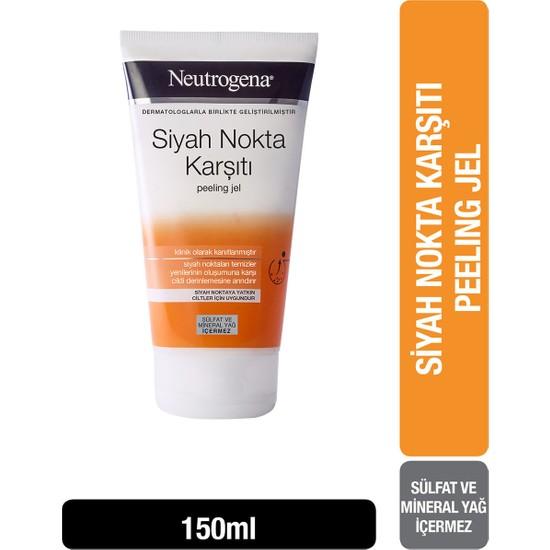 Neutrogena Siyah Nokta Karşıtı Günlük Peeling Jel 150 ml