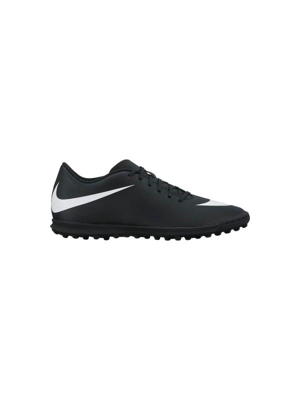 Nike Bravata X II Turf Erkek Halı Saha Siyah Futbol Ayakkabısı 844437-001