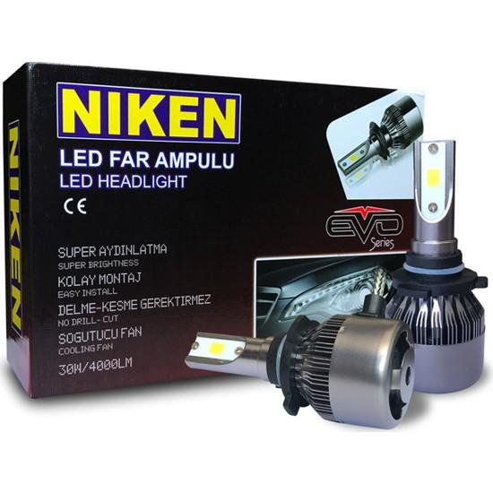 Niken Evo Serisi Led Xenon Far Ampulu H7 / H4 / H11 / H1 / H10 / 9005 / 9006 / H15
