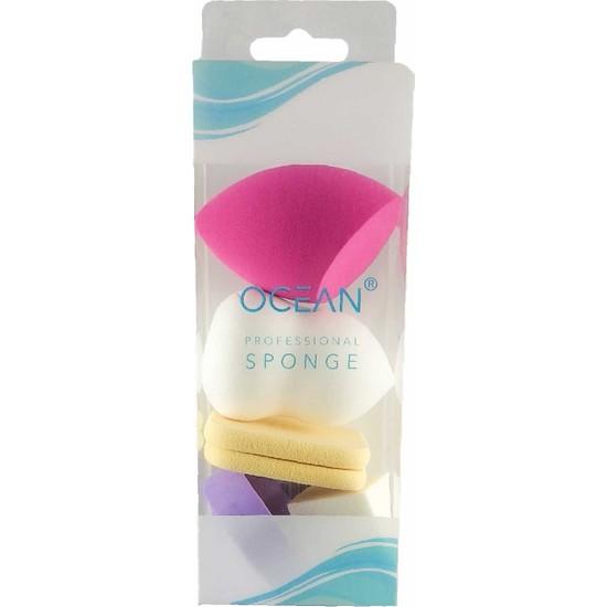 Ocean Makyaj Süngeri Seti [karışık Renk ve Şekillerde]