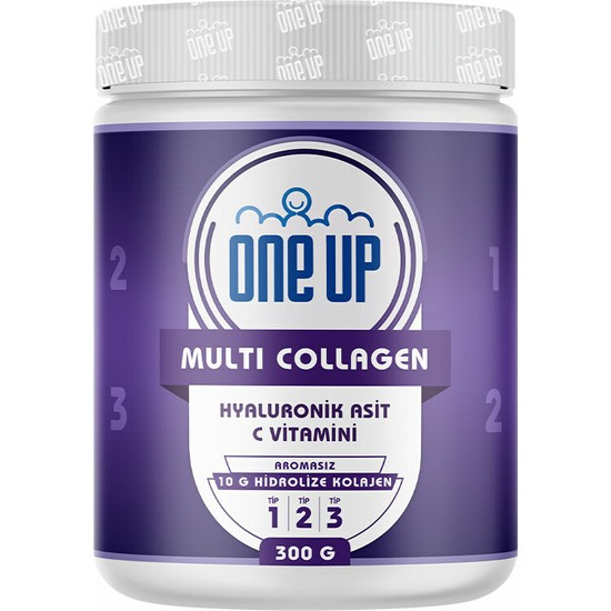 One Up Multi Collagen 300gr Aromasız
