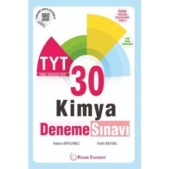 Palme YKS TYT Kimya 30 Deneme Sınavı - Hakan Söylemez