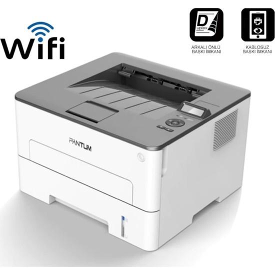 Pantum P3010DW Dublex + Network + Wi-Fi Mono Lazer Yazıcı