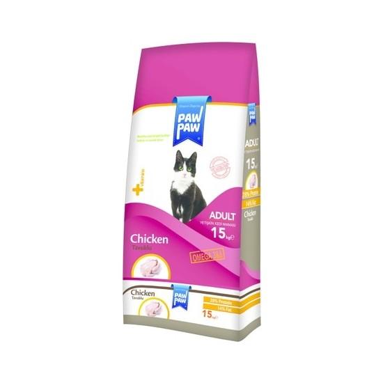 Paw Tavuklu Kedi Maması 15 Kg