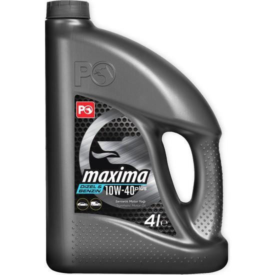 Petrol Ofisi Maxima 10W-40 4 Litre Motor Yağı ( Üretim Yılı :2020 )