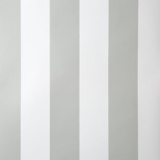 Piya Piya More 1911 Gümüş Beyaz Çizgili Duvar Kağıdı