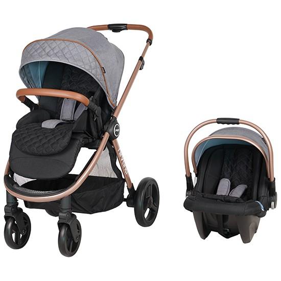 Prego Nirvana Travel Sistem Bebek Arabası Gri