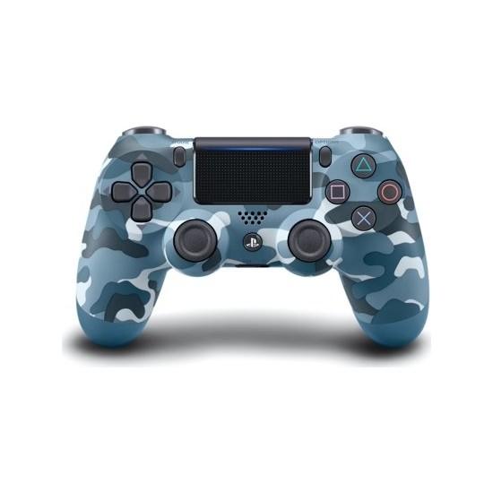 Ps4 Dualshock 4 V2 Gamepad Yenilenmiş Kol - Mavi Kamuflaj