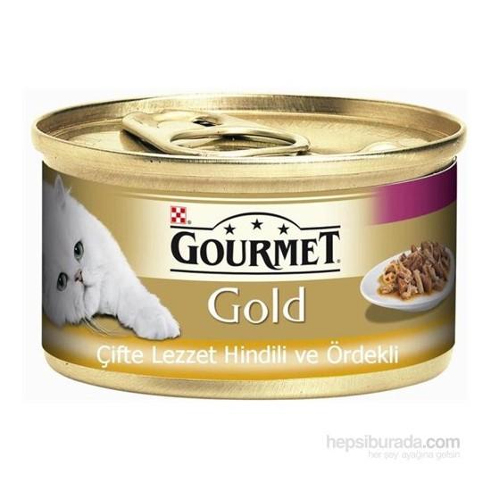 Purina Gourmet Gold Hindili Ördekli Konserve Mama 85 gr