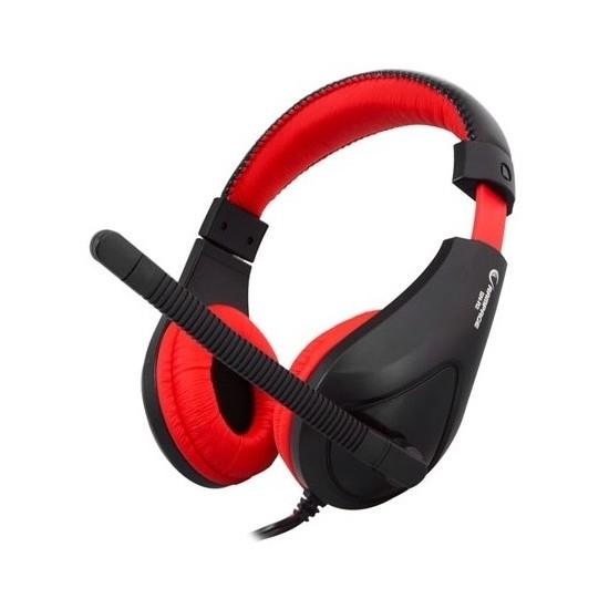 Rampage Sn-R2 Oyuncu Siyah/Kırmızı Mikrofonlu Kulaklık