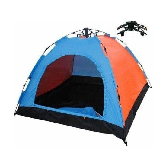 Realx Tam Otomatik 4 Kişilik Kurulum Kamp Çadırı 200 x 200 x 140 cm