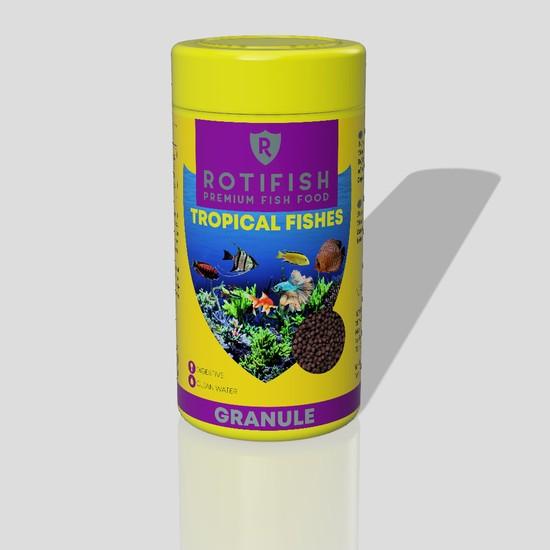 Rotifish Tropical Fish Feed 100 ml (35 Gr.) Tatlısu Akvaryum Balığı Yemi