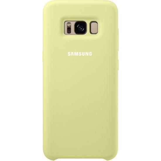 Samsung Galaxy S8 Silikon Kılıf Yeşil - EF-PG950TGEGWW