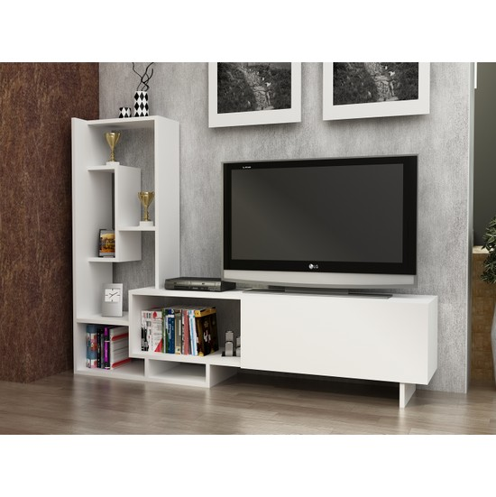 Sem Egemen Tv Ünitesi Beyaz 160 Cm