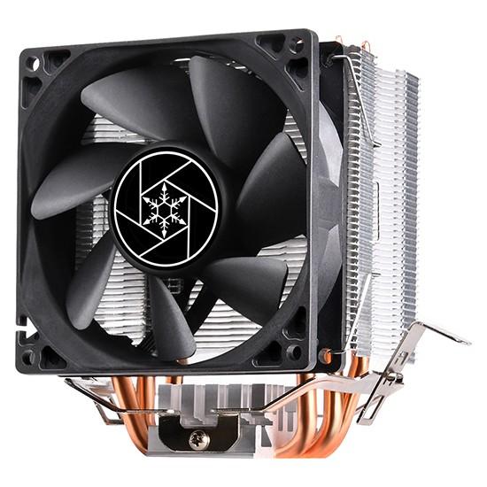 SilverStone KR02 9.2cm Fan, Intel ve AMD Uyumlu İşlemci Soğutucu (SST-KR02)
