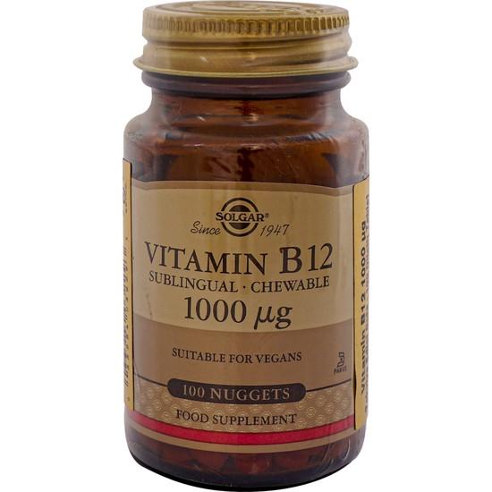 Solgar Vitamin B12 1000 mcg 100 Kapsül