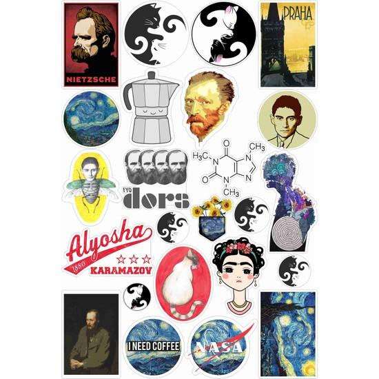 StickerMarket Laptop Sticker Seti