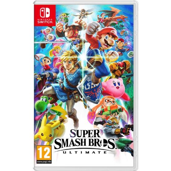Super Smash Bros Ultimate Switch Oyun (Resmi Distribütör Ürünü)