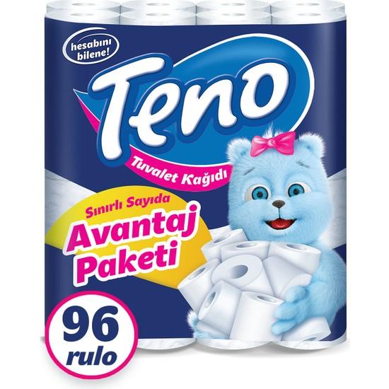 Teno Avantaj Paket Tuvalet Kağıdı 96 Rulo