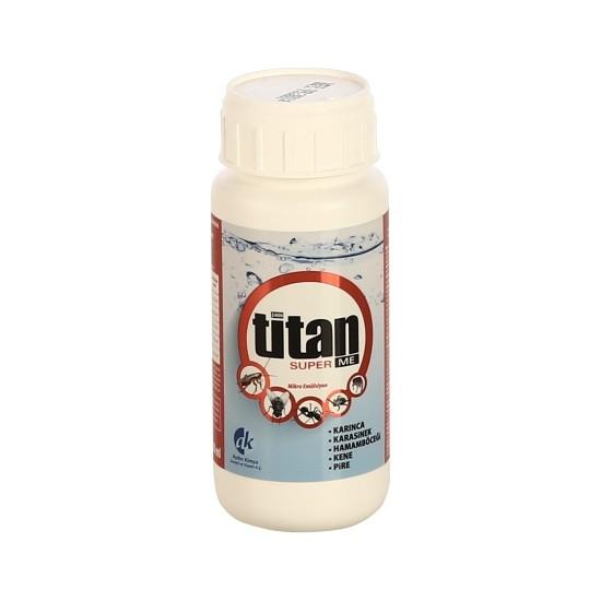 Titan Super Me Mikro Emülsiyon (Karınca, Karasinek, Hamamböceği, Kene, Pire) 500 Ml