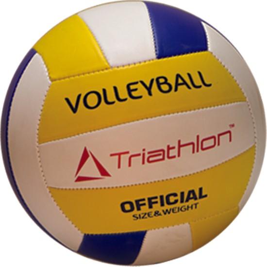 Triathlon T123 Beyaz-Sarı Voleybol Topu