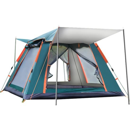 Xyanling 6-7 Kişilik Yağmur-Rüzgar Geçirmez Tam Otomatik Açılır Çadır (Yurt Dışından)
