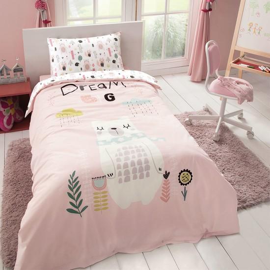 Yataş Bedding Bear Çocuk Ranforce Nevresim Takımı