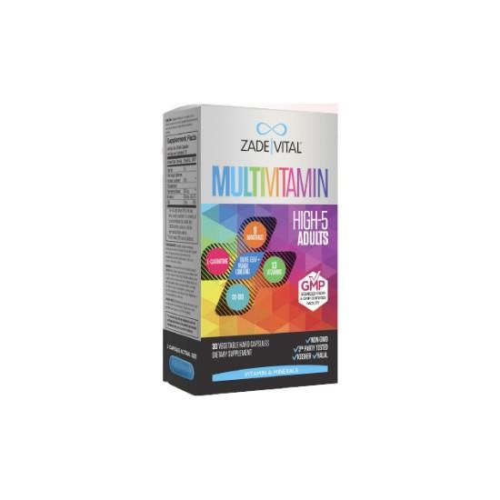Zade Vital Multivitamin Bitkisel 30 Kapsül