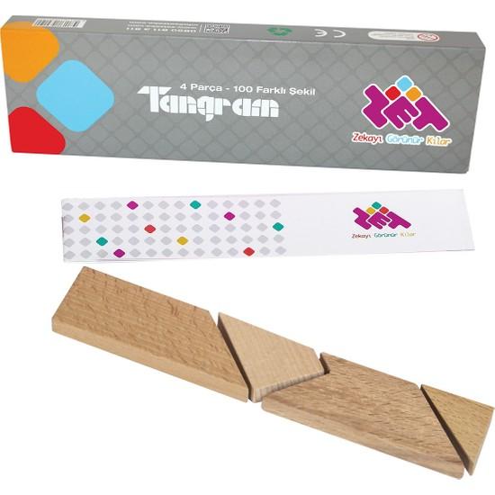 Zet Zeka T Tangram Zeka, Akıl, Mantık ve Strateji Oyunu 5 Yaş ve Üzeri